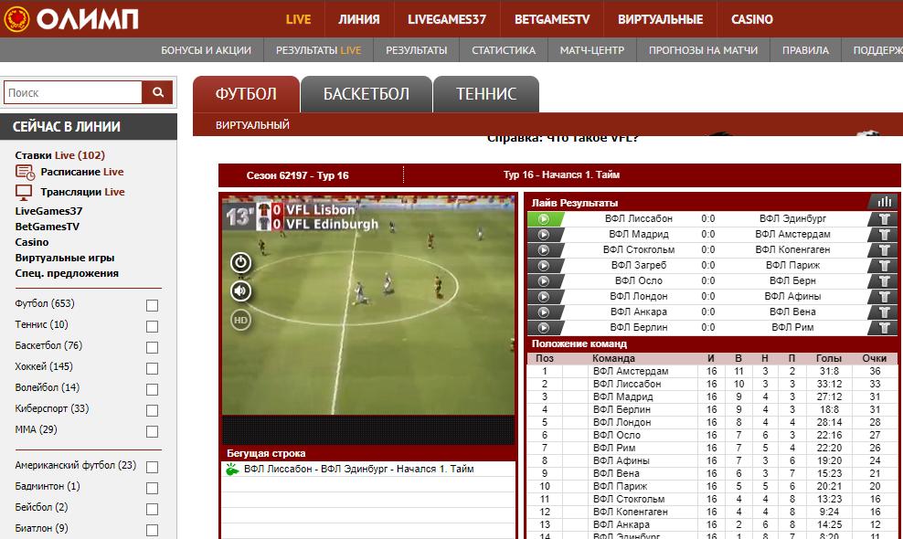 Виртуальный кибер футбол